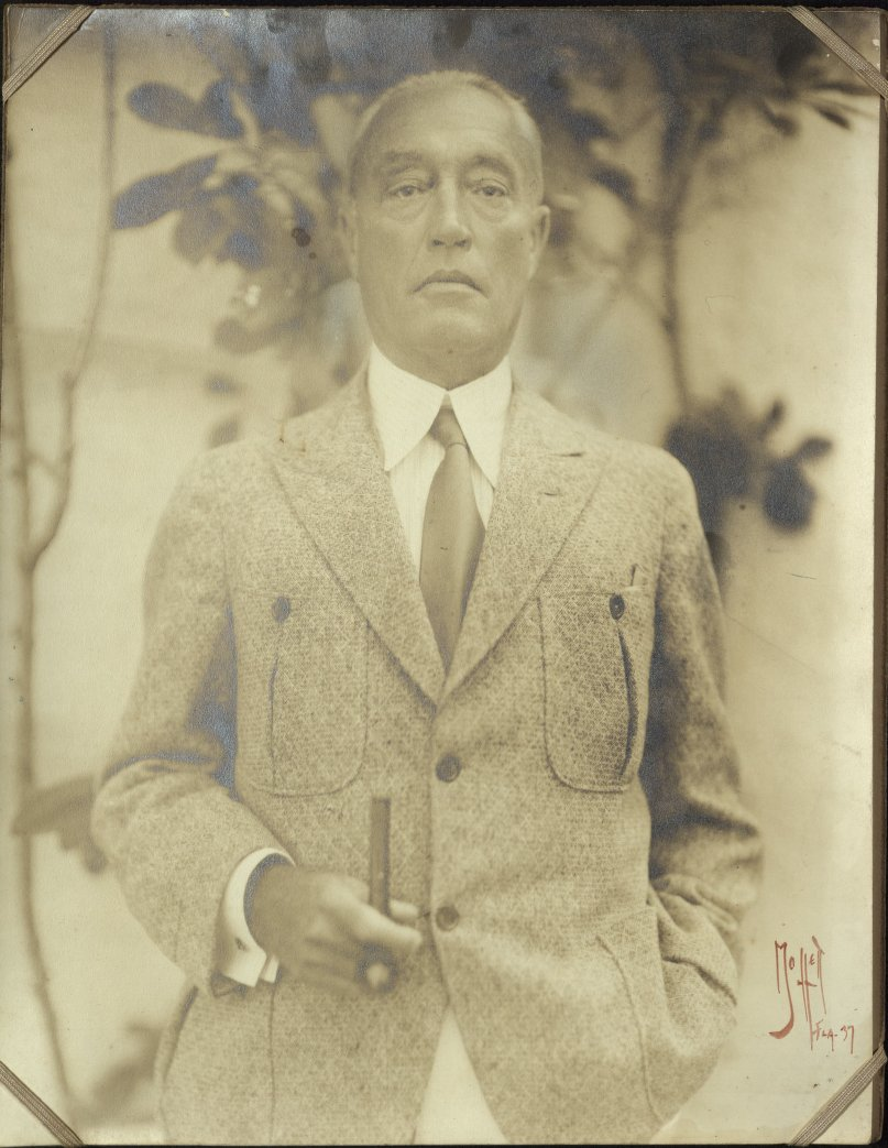 Portrait Photograph of Publisher Lewis (Louis) Coues Page