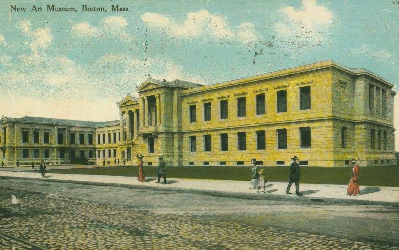New Art Museum Boston, Mass. postcard