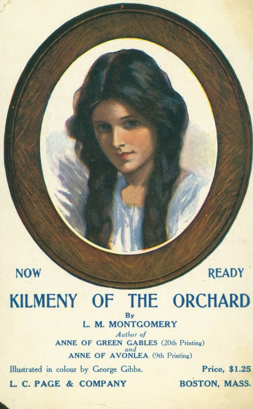 Kilmeny of the Orchard promotional postcard