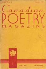 Canadian Poetry Magazine