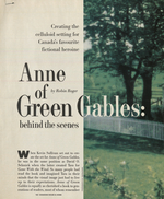 Anne of Green Gables Behind the Scenes